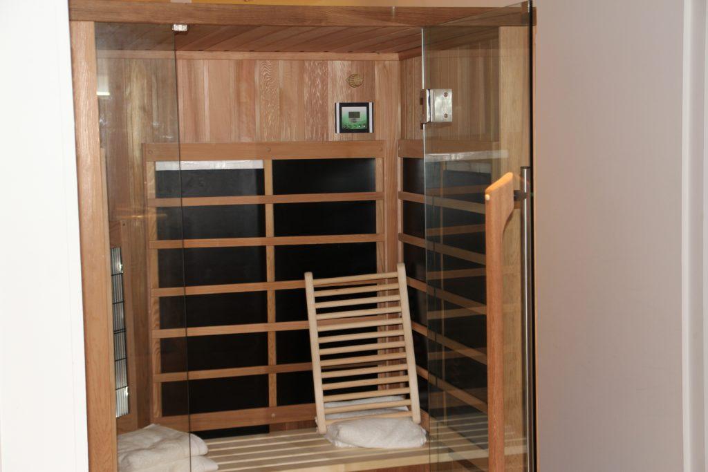Extra voordelen infrarood sauna