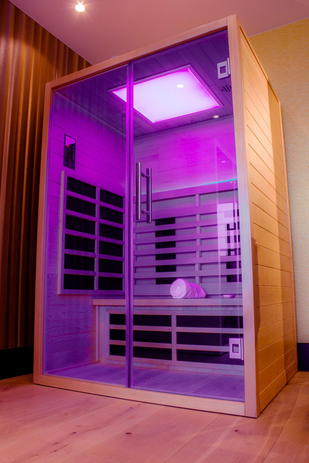 Hoe werkt een infrarood sauna