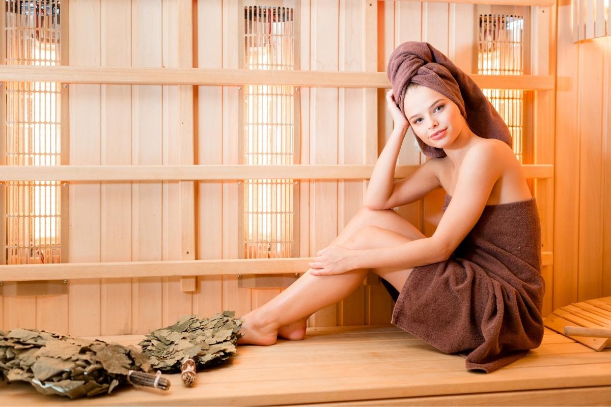 Infraroodsauna voor een betere huid