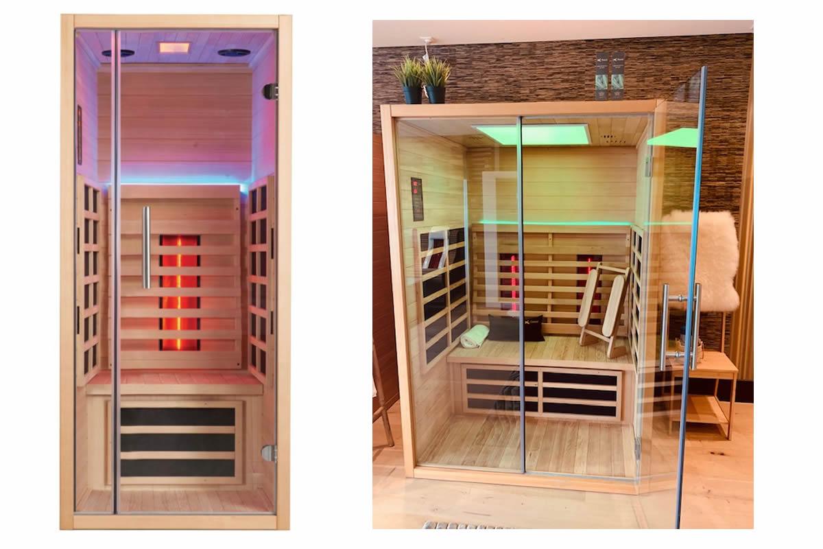 Infraroodsauna vs traditionele sauna