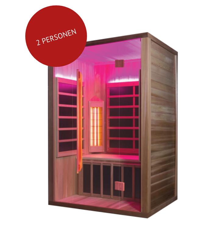 infrarood sauna tegen bijnieruitputting