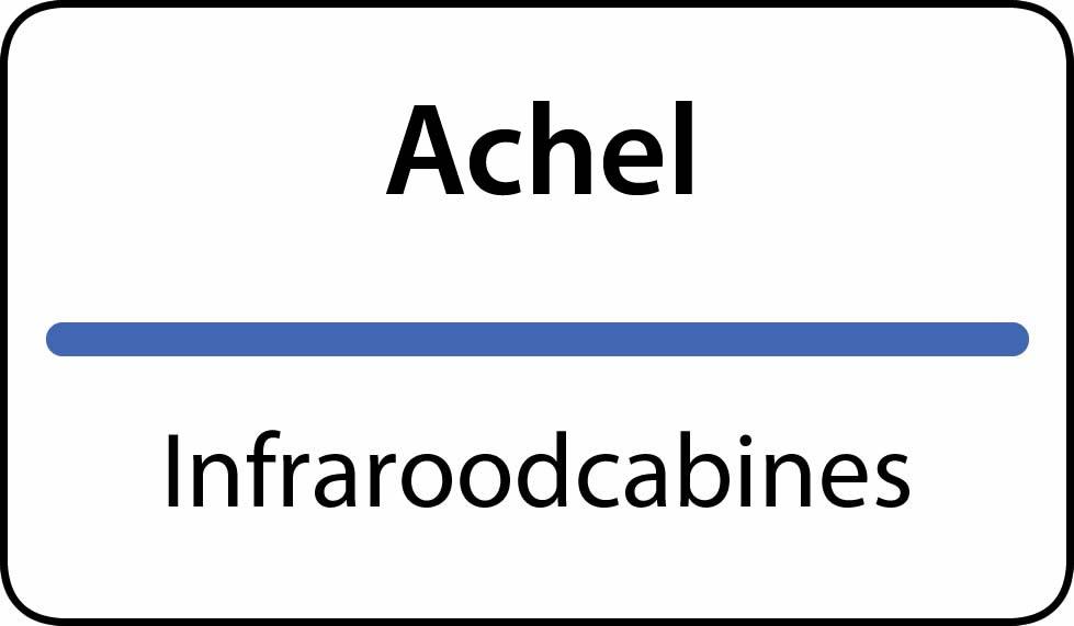 infraroodcabines Achel