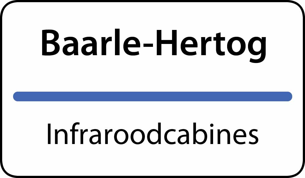 infraroodcabines Baarle-Hertog