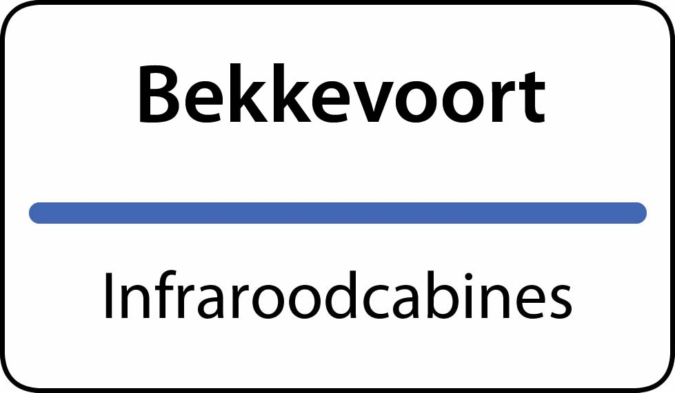 infraroodcabines Bekkevoort