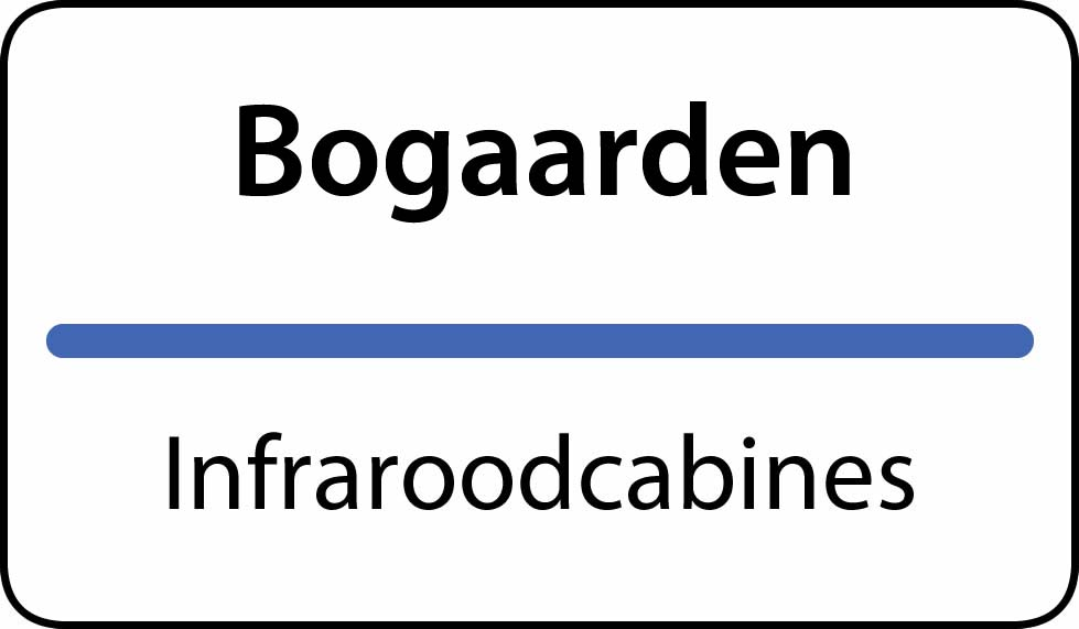 infraroodcabines Bogaarden