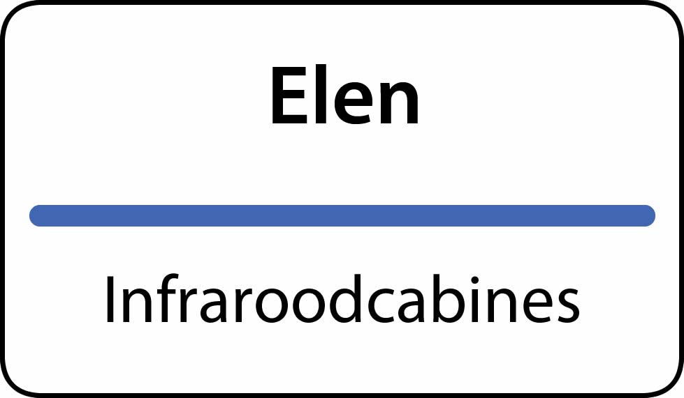 infraroodcabines Elen
