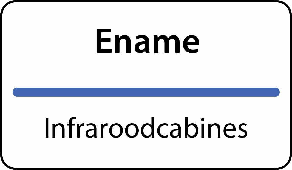 infraroodcabines Ename