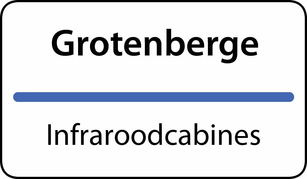 infraroodcabines Grotenberge