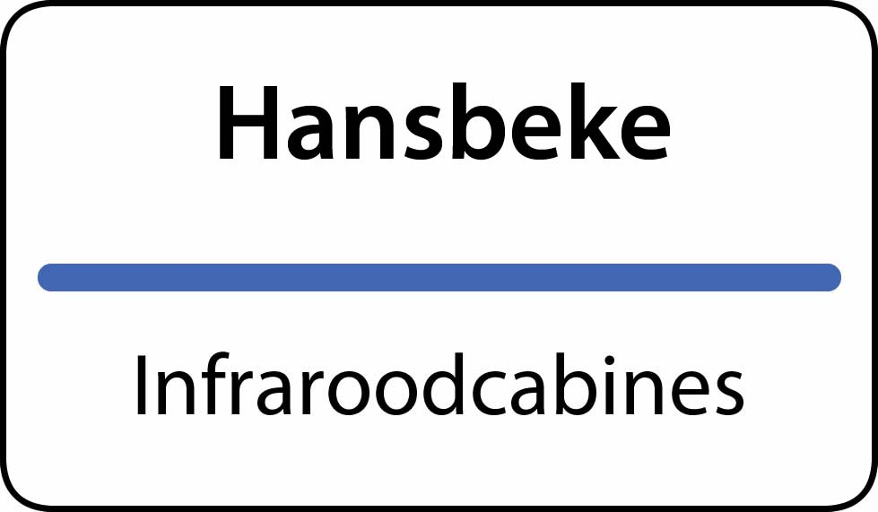 infraroodcabines Hansbeke