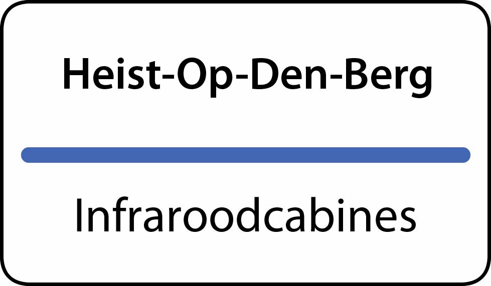 infraroodcabines Heist-Op-Den-Berg