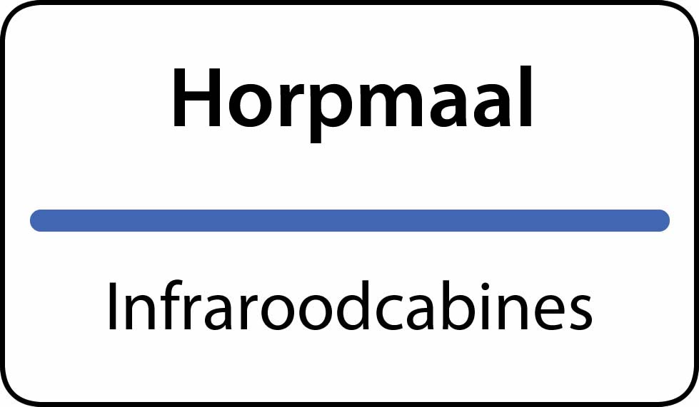 infraroodcabines Horpmaal