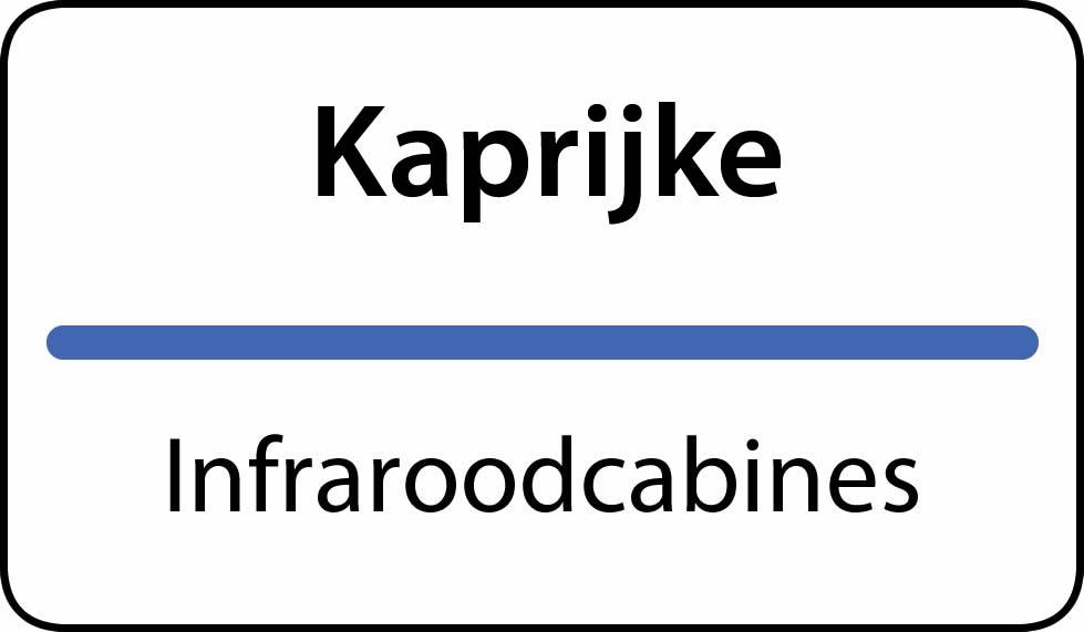 infraroodcabines Kaprijke