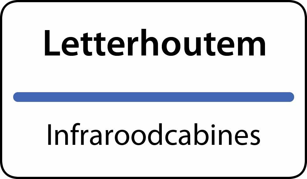 infraroodcabines Letterhoutem