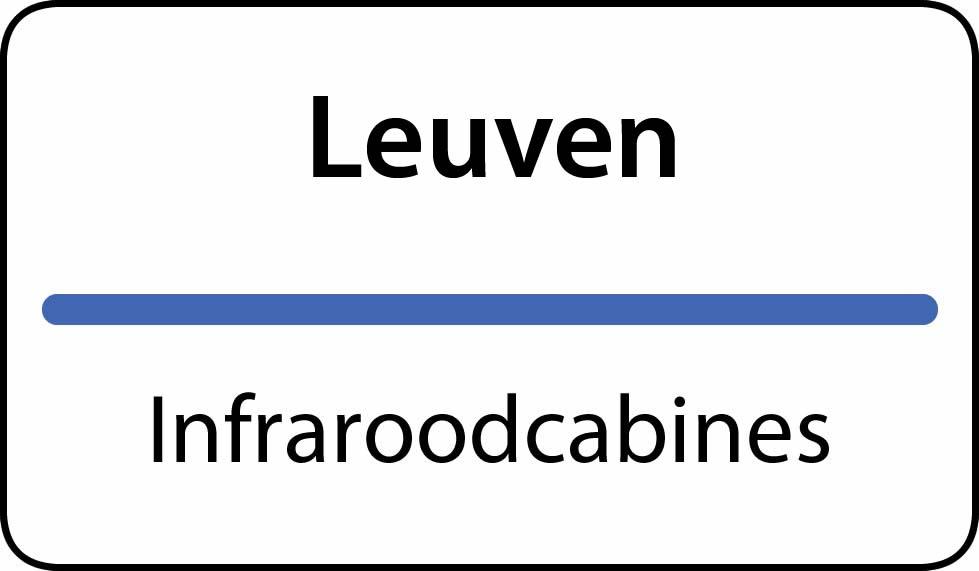 infraroodcabines Leuven