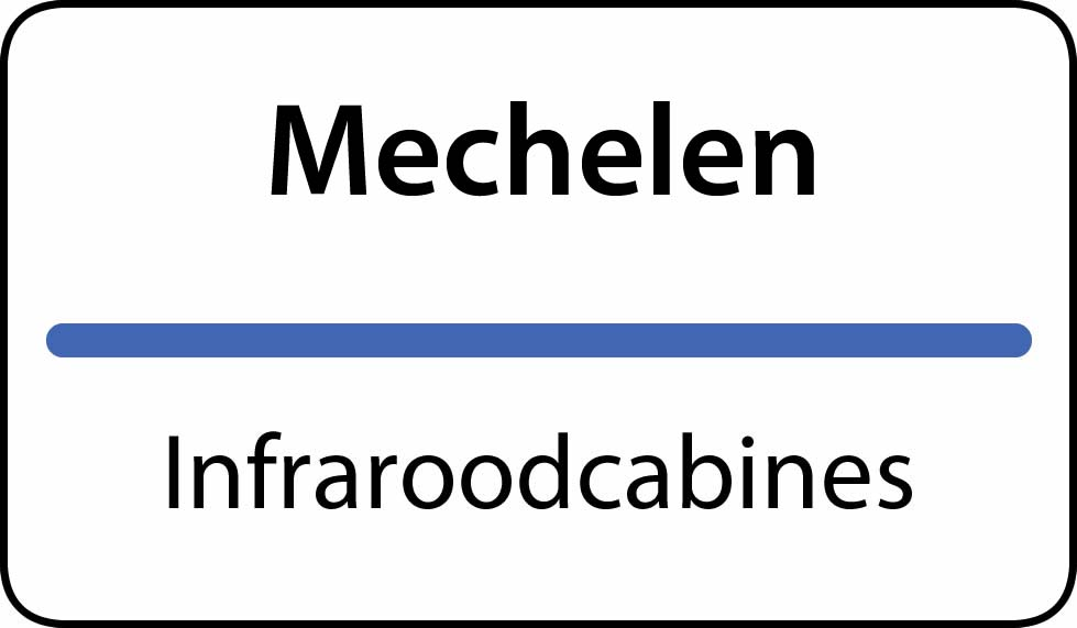 infraroodcabines Mechelen