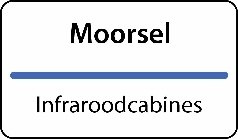 infraroodcabines Moorsel