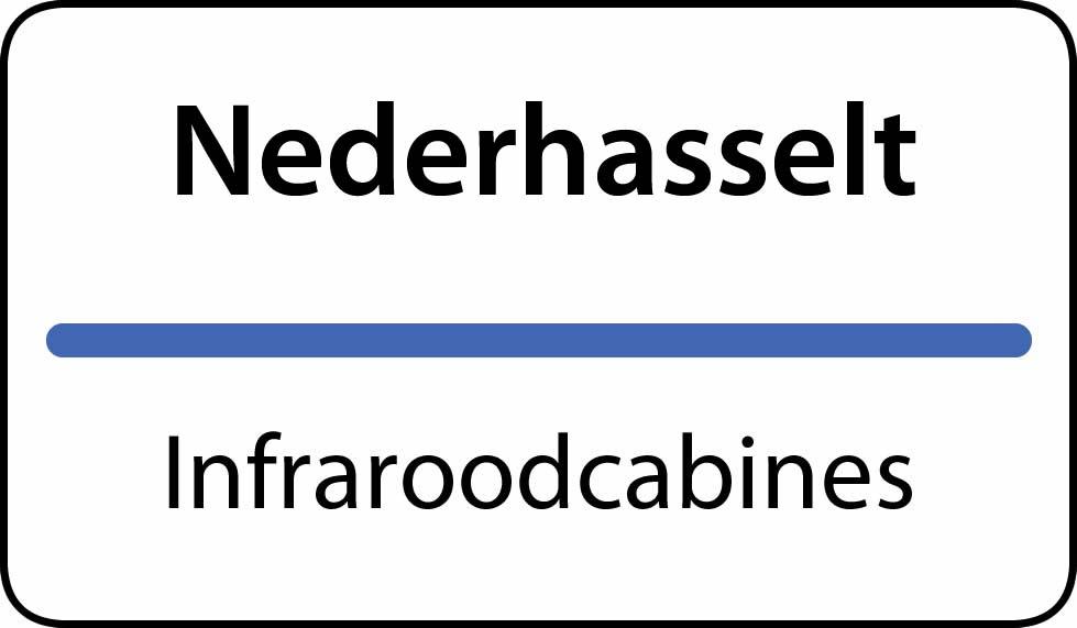 infraroodcabines Nederhasselt