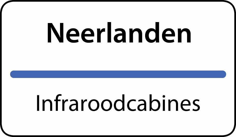 infraroodcabines Neerlanden