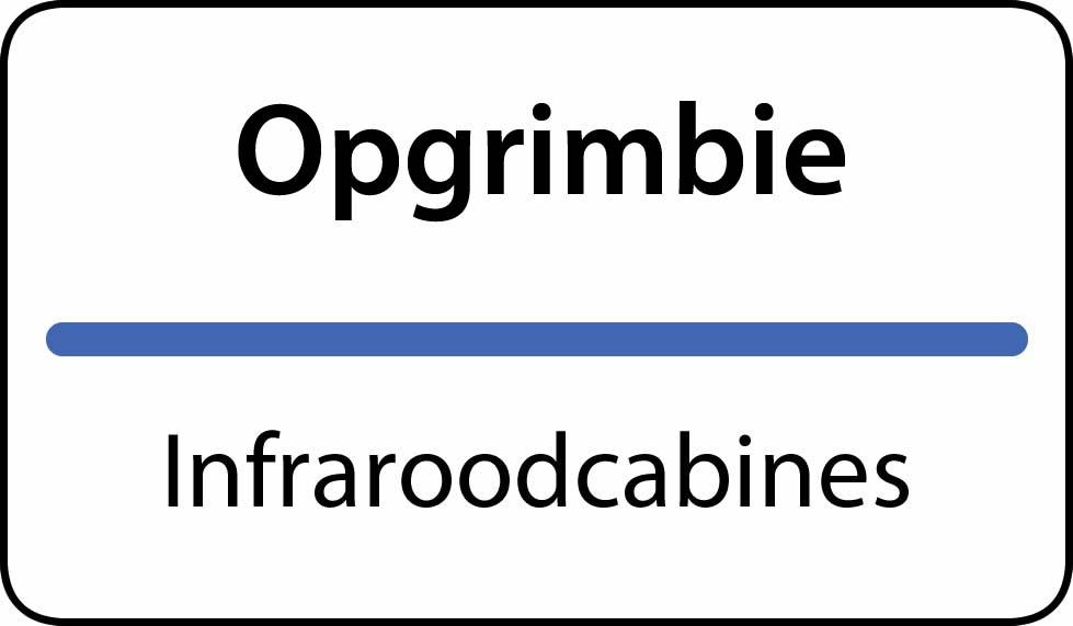infraroodcabines Opgrimbie