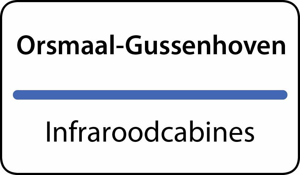 infraroodcabines Orsmaal-Gussenhoven