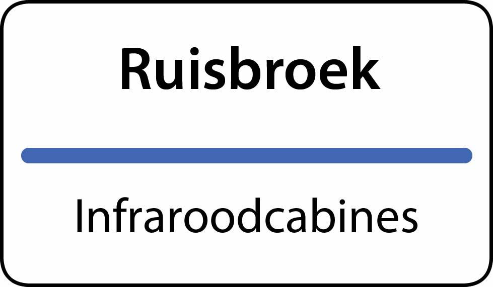 infraroodcabines Ruisbroek