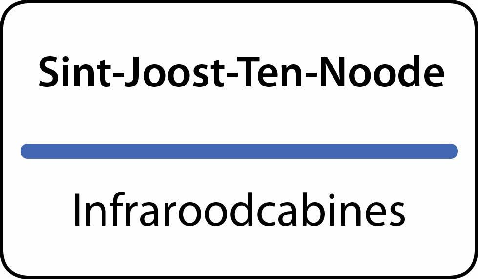 infraroodcabines Sint-Joost-Ten-Noode