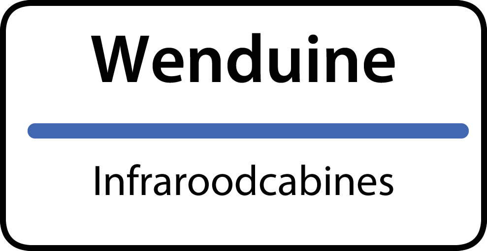 infraroodcabines Wenduine