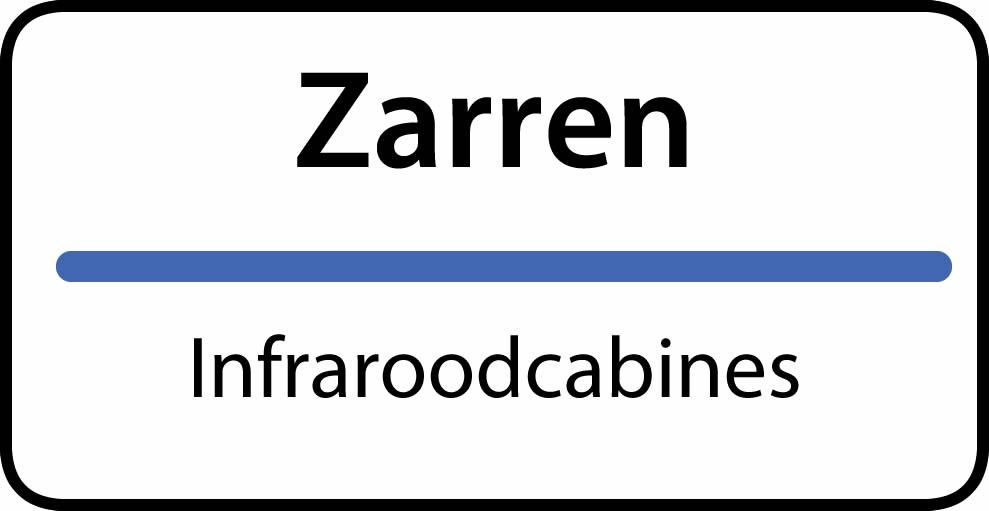 infraroodcabines Zarren