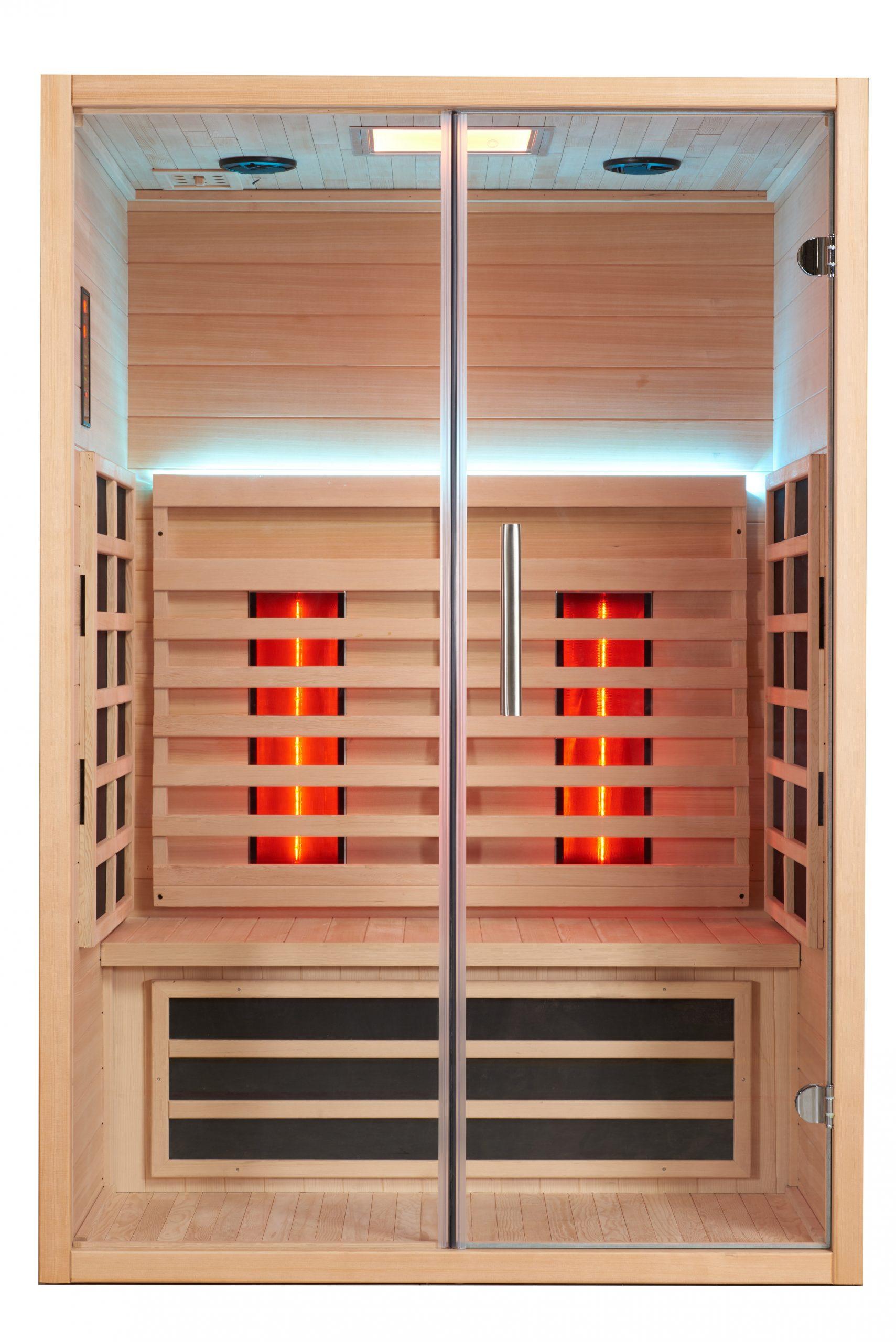 infrarood sauna gebruik